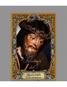 Azulejo rectangular de Nuestro Padre Jesús Nazareno de San Fernando
