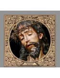 Azulejo cuadrado del Cristo de la Coronación de Espinas de Sevilla
