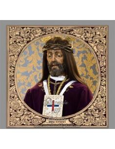 Azulejo cuadrado de Nuestro Padre Jesús Nazareno Rescatado de Cordoba