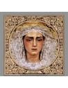 Azulejo cuadrado de Ntra. Madre y Señora María Santísima de la Trinidad de Cordoba
