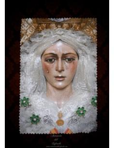 Toallita Limpia Gafas con la Virgen de la Esperanza Macarena de Sevilla