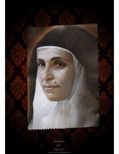 Toallita Limpia Gafas con Santa Angela de la Cruz