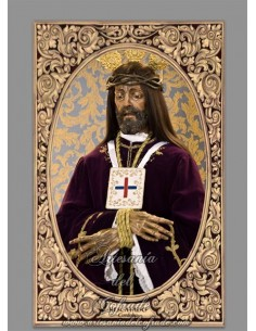 Precioso azulejo rectangular de Nuestro Padre Jesús Nazareno Rescatado de Cordoba