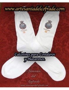 Calcetines personalizados para costaleros y nazarenos