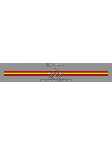 Pulsera de tela con el texto SOY COSTALERO y bandera España
