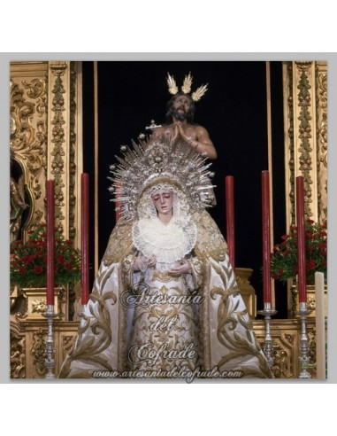 Se vende esta ceramica de los titulares de la Cofradía de la Estrella de Sevilla