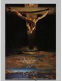 Azulejo rectangular reproducción cristo crucificado de Dali