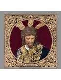 Azulejo cuadrado del cristo de San Gonzalo de Sevilla