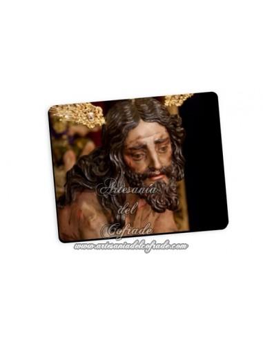 Bonita alfombra de ratón del Cristo de las Cigarreras de Sevilla