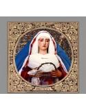 Precioso Azulejo cuadrado de María Santísima de la O de Sevilla