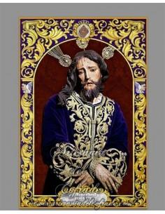 Azulejo rectangular de Nuestro Padre Jesús del Prendimiento de Jerez