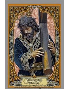 Azulejo rectangular de Ntro. Padre Jesús de la Redención de Huelva