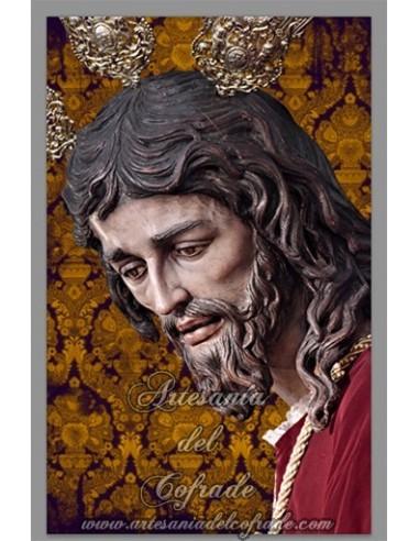 Azulejo rectangular del Cristo de San Gonzalo de Sevilla