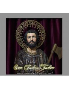Azulejo cuadrado de San Judas Tadeo