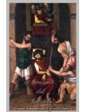 Azulejo rectangular de la coronación de Cristo