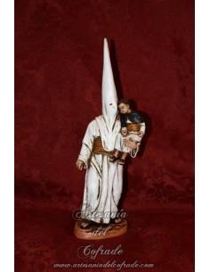 Bonita figura de Nazareno con niño en blazos.