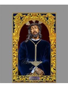 En venta cerámica con el Cristo de la Sentencia de la Cofradía de la Yedra Jerez