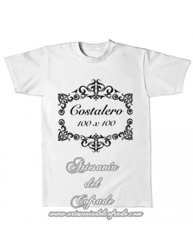Camiseta con el lema Costalero 100x100