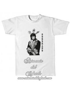 Camiseta con la silueta del cristo del Soberano Poder (San Gonzalo de Sevilla)