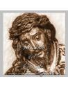 Azulejo del cristo de las tres caidas de Triana.