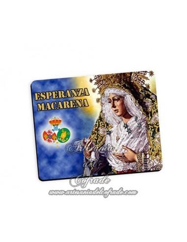 Alfombra de ratón de la Virgen de la Esperanza Macarena de Sevilla