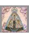 Bonito azulejo Cuadrado de la Virgen del Rocio
