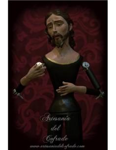 Cristo de candelero para vestir de 55 ctm