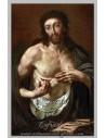 Precioso azulejo rectangular de Jesucristo