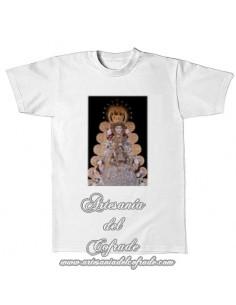 Camiseta con la Virgen del Rocio (Patrona de Almonte)