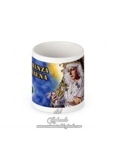 Taza de la virgen de la Esperanza Macarena de Sevilla