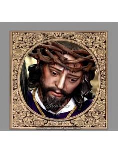 Azulejo cuadrado de Nuestro Padre Jesús del Buen Suceso de Cordoba