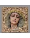 Azulejo cuadrado de María Santisima de la Soledad de Cordoba