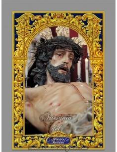 En venta cerámica con el Cristo del Santísimo Cristo de la Exaltación de Jerez