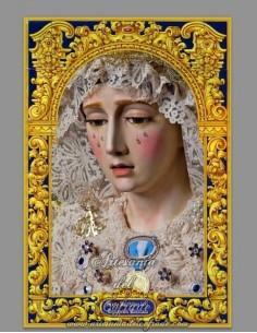 En venta Baldosa de Ceramica de la Virgen de la Concecpcion Coronada de Jerez