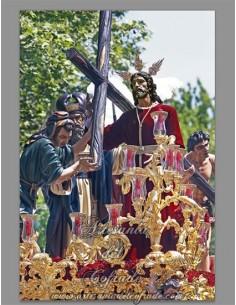 Bonito azulejo de Nuestro Padre Jesús de la Victoria (Hermandad de la Paz,Sevilla)
