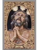 Bonito azulejo de Nuestro Padre Jesús de las Penas (Hermandad de la Estrella)