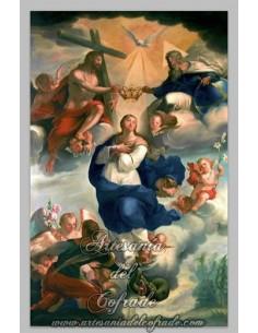 Azulejo rectangular de la Inmaculada Concepción