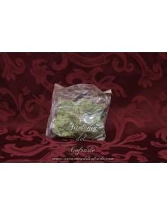 Bolsa de musgo verde para Belén