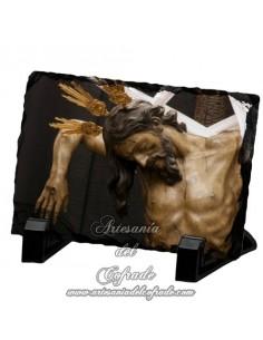 Pizarra rectangular del Sagrado Descendimiento de Nuestro Señor Jesucristo de Sevilla