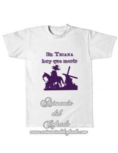 Camiseta con el lema En triana hay que morir