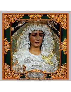 Azulejo  de Nuestra Señora de la Esperanza de Huelva.