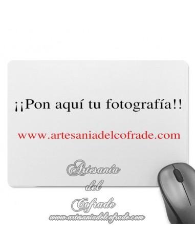 Alfombrilla ratón rectangular personalizado con su fotografía