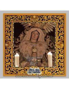 Azulejo la Virgen del Castillo (Patrona de Lebrija)
