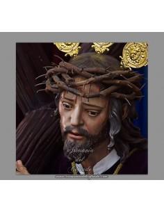 Azulejo cuadrado del cristo del Buen Suceso de Cordoba