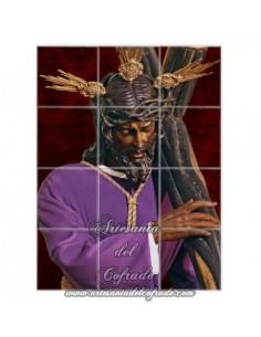 Se vende retablo cerámico de 12 azulejos del Cristo de los Gitanos de Sevilla