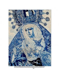 Se vende retablo de 12 azulejos de la Esperanza de Triana ( Sevilla)