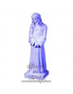 Cristo de San Benito de escayola de 16 cm