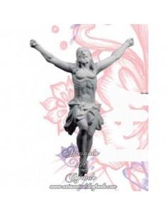 Crucificado del cachorro de Sevilla de escayola de 17 cm