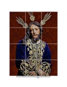 Se vende retablo de 12 azulejos con el Cristo del Prendimiento de Jerez de la Frontera - Tienda Cofrade