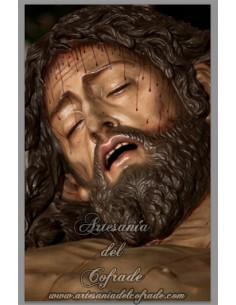 Se vende este azulejo rectangular del Cristo de las Cinco LLagas de Sevilla - Tienda Cofrade